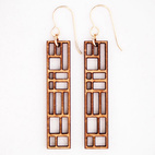 Laser-Cut Earrings
