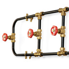 Pipework Series Coat Rack