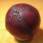 Leather Head Lemon Ball Baseball