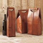 Gump's Wine Bottle Carriers