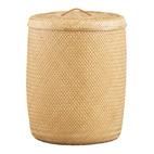 CB2 Laundry Hamper