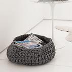 Crocheted Rubber Basket
