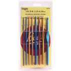 Boye Aluminum Crochet Hook Set