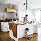 Brassy Brooklyn Kitchen