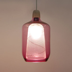 Milk Bottle Lamp