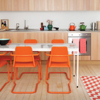 A Colorful, Custom-Built Guesthouse in London