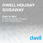 Enter to Win in Dwell's Exclusive Holiday Giveaway