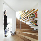 Spiral Staircase Shapes Tokyo Home
