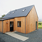 Locally-Sourced Prefab Prototype in Scotland