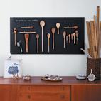 DIY Black Chalkboard Pegboard by Margaret Oomen
