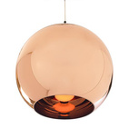Copper Shade Pendant Lamp