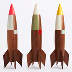 Modern, Whimsical Rocket by Designer Pat Kim
