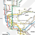 Standing Room Only: The Vignelli Subway Map