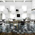 Paola Navone's Industrial Style Renovation in Italy