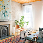 Light-filled Living Room in Brooklyn