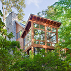 Rill Architects' Retreat in the Woods