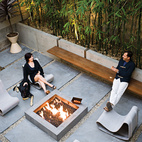 7 Modern Outdoor Fireplaces We Love