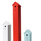 3 Modern Birdhouses to Beautify Your Yard