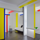 A Mondrian-Inspired NYC Apartment