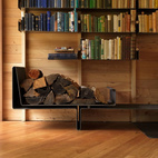 5 Creative, High-Design Bookshelves