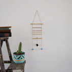 Wooden Geometric Mobiles by Haley Ann Robinson