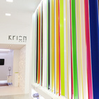 Krion Solid Surfaces by SystemPool and Porcelanosa