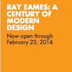 "The California Museum's exhibit ""Ray Eames: A Century of Modern Design"""