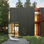 Modern Steel House in Seattle