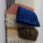 Dwell on Design 2013: Brook&Lyn Woven Textile Art