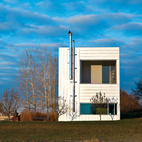 Modern Box Home in Rural Wisconsin
