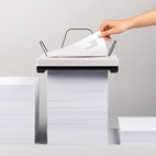 A Printer That Moves Down a Stack of Paper