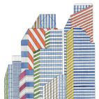 In the City by Nigel Peake