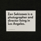 Promo Daily: Zen Sekizawa