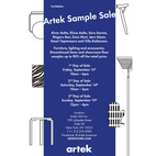 Artek Sample Sale 2013