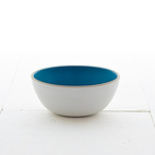 Vegetable Bowl- Blue Pine/Stone White