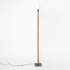 Macrame Wrapped Floor Lamp