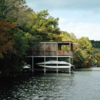 A Prefab Boathouse in Texas