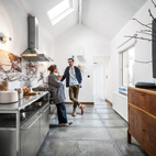 A Clever Belgian Couple Renovate Their Aging Brick Home