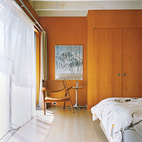 How To: Wood-Paneled Bedroom