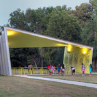 A Modern Park Pavilion Rises in Dallas