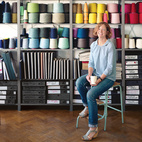 A Look Inside Eleanor Pritchard's Textile Studio