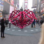 Brooklyn Design Studio Wins Annual Times Square Heart Competition