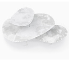 Cloud Tables by Nendo for Moroso