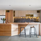 A Modern Geometric Home in Northcote