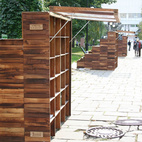3 Innovative Outdoor Libraries in Russia