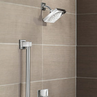 90 Degree Shower and Grab Bar
