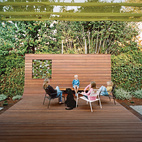 A Family Retreats to Their Ipe-Clad Backyard for an Easy Getaway