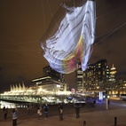 Sculpture Lets the Public Paint the Sky