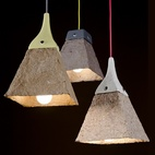 Rock, Paper, Circuits: Pulplites Lamps