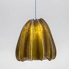 Laser-Cut Lampshade Made from Seaweed